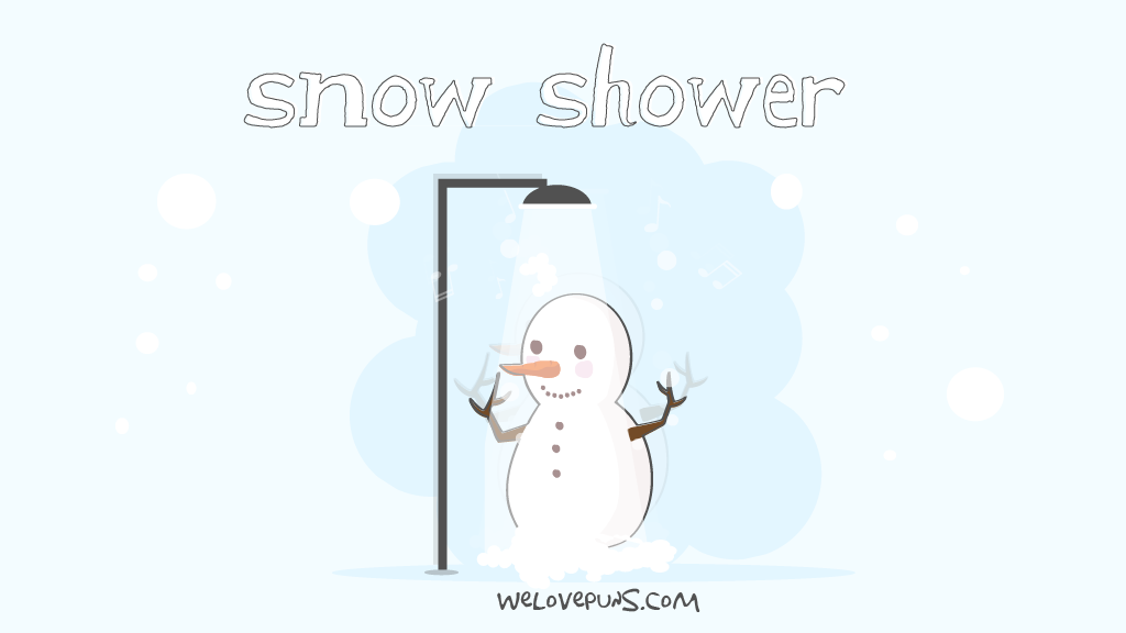 best snow puns and snow jokes